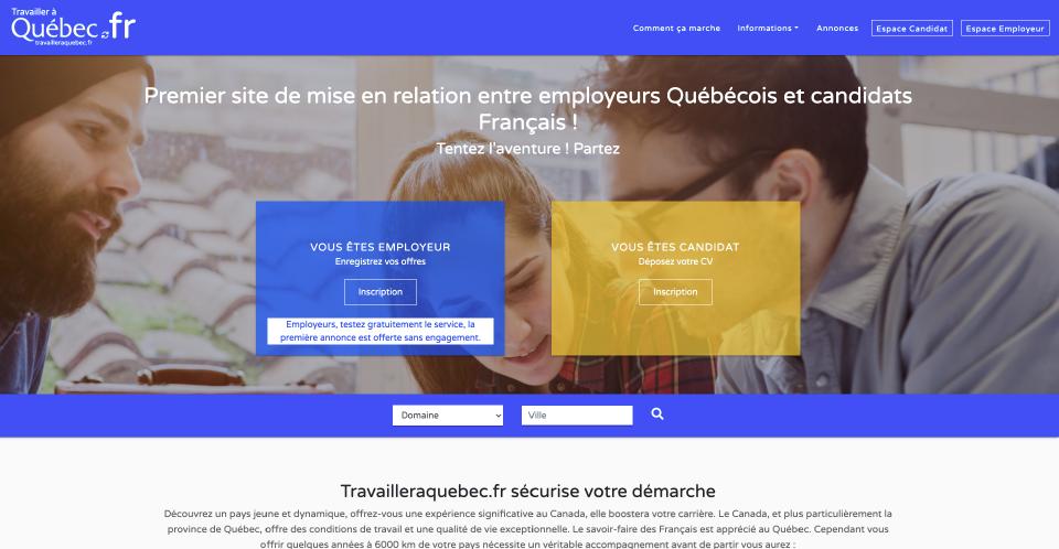 Travailler à Québec